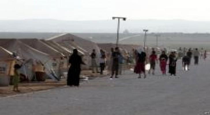 """توزيع 350 ألف رغيف على لاجئي الزعتري و""""الأزرق"""" يوميا"""