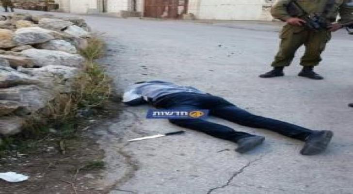 الإحتلال :استشهاد فلسطيني بدعوى محاولة طعن جنود في الخليل