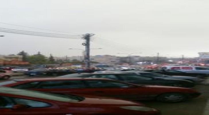 عاصفة رعدية في عمان .. وتحذيرات من تشكل السيول