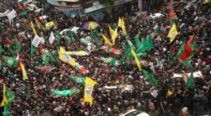 مواجهات في طولكرم بعد استشهاد 4 فلسطينيين بالخليل