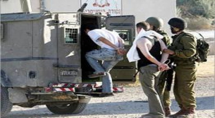 حملة اعتقالات في الضفة الغربية .. اسماء