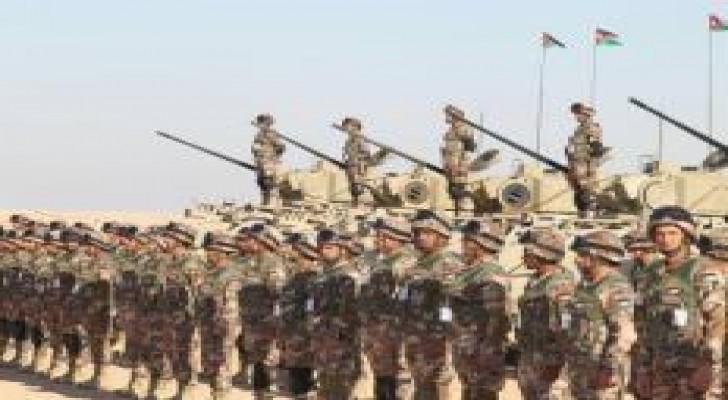 """انطلاق فعاليات """" رعد الشمال """" بمشاركة أردنية .. صور"""