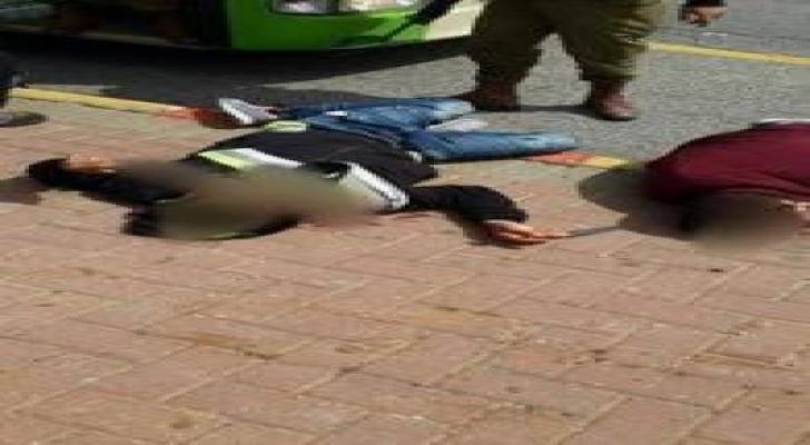 بالصور : استشهاد شابين فلسطينيين واصابة مستوطنة بعملية طعن شمال الضفة
