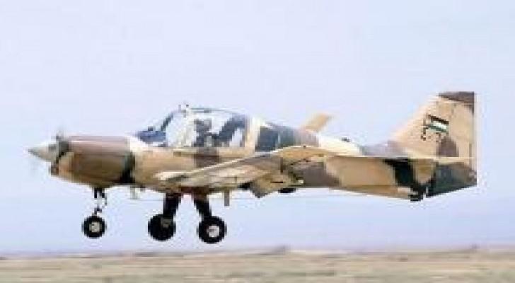 استشهاد طيار واصابة زميله بسقوط طائرة تدرييبة في الصفاوي