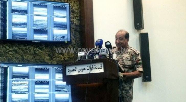 """الجيش يحبط محاولات تهريب مخدرات من سوريا إلى الأردن عبر """" أنفاق عثمانية """""""