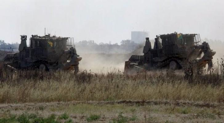 عودة التوتر وقصف متبادل على حدود غزة