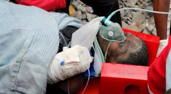 49 قتيلًا بانهيار مبنى في كينيا
