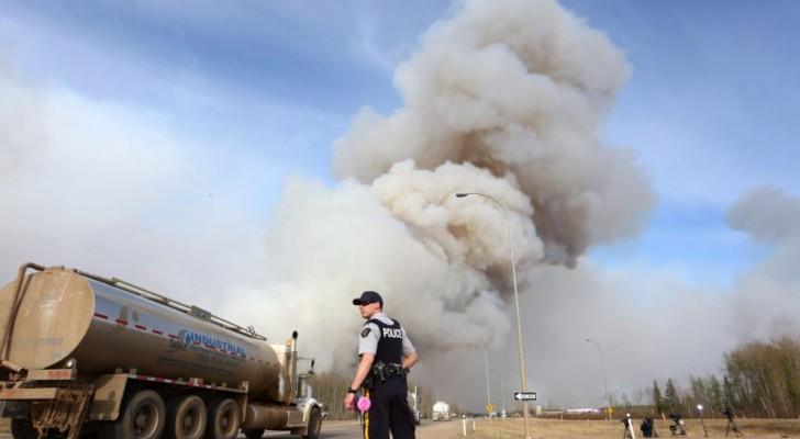 أسعار النفط تقفز مع احتدام حريق غابات بكندا