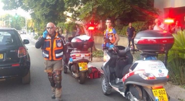 طعن جندي اسرائيلي في تل أبيب