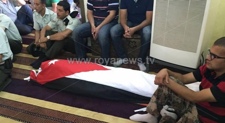 """بالصور: تشييع جثمان الشهيد """" عمر الحياري """" في العيزرية """""""