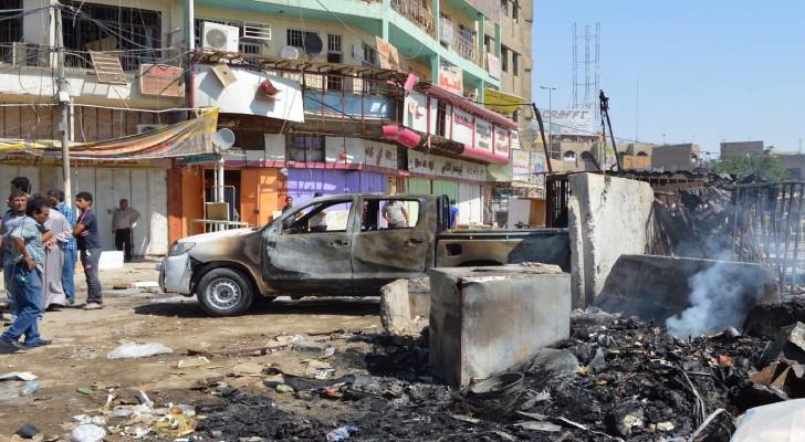مقتل أكثر من 22 وإصابة 70 في تفجيرين ببغداد