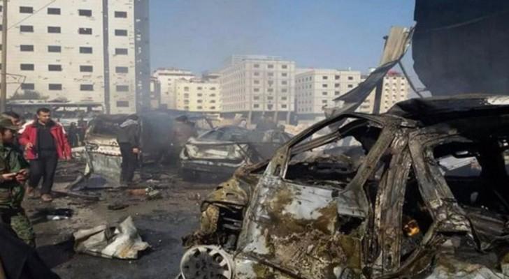 عشرات القتلى والجرحى بانفجار هز منطقة السيدة زينب بدمشق