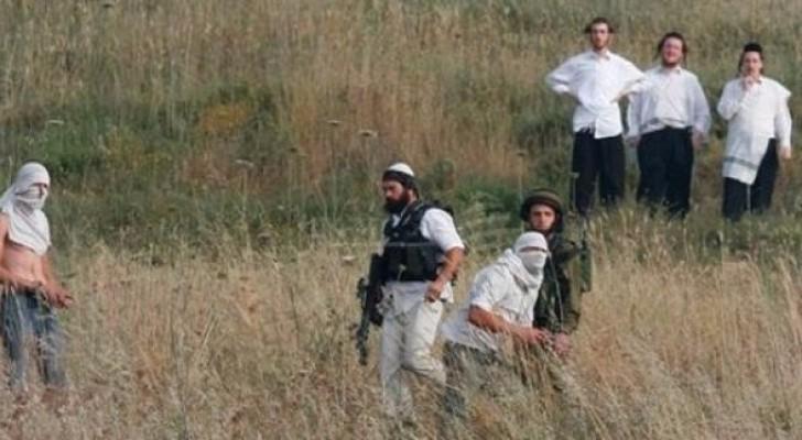 مستوطنون يهاجمون مركبة فلسطينية شمال الضفة