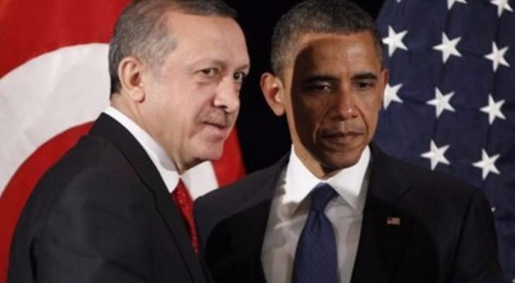 الرئيس التركي رجب طيب أردوغان ونظيره الأميركي باراك أوباما - أرشيفية