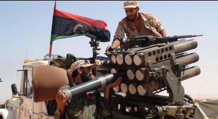 الجيش الليبي يحرر منطقة قرب إجدابيا من القاعدة