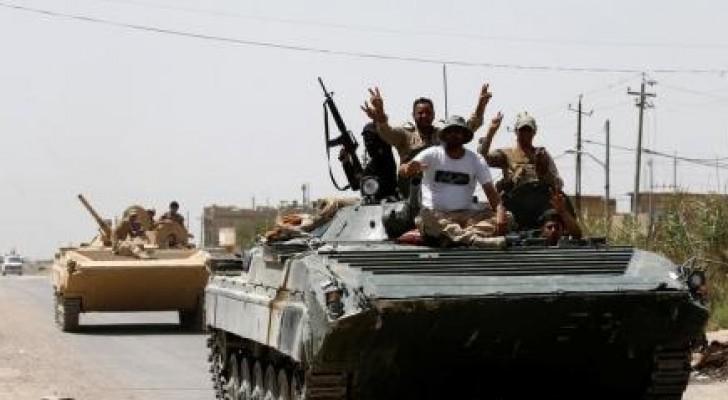 القوات العراقية تستعيد السيطرة على الفلوجة وتعلن انتهاء المعركة
