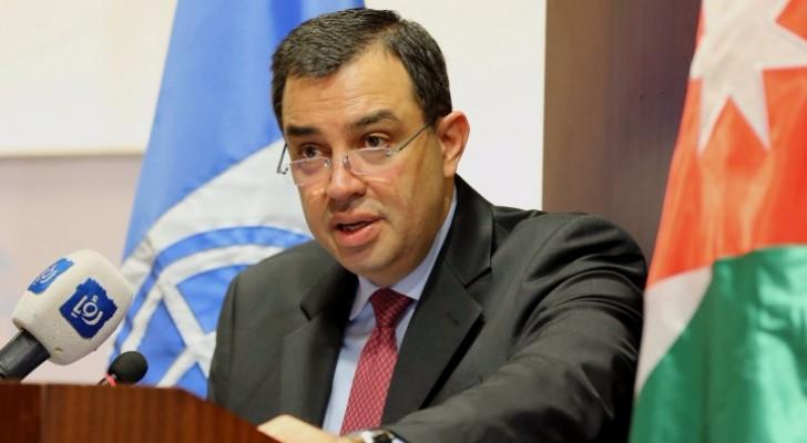 وزير التخطيط والتعاون الدول عماد الفاخوري