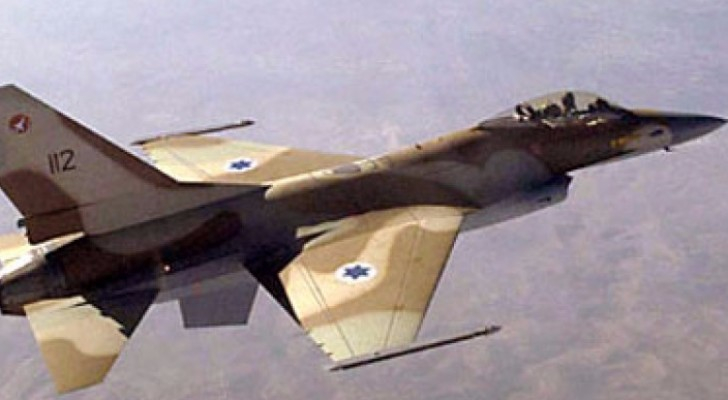 اسرائيل تقصف موقعين عسكريين سوريين