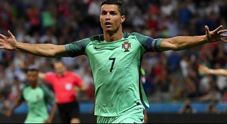 رونالدو يعادل رقم بلاتيني كأفضل هدافي اليورو