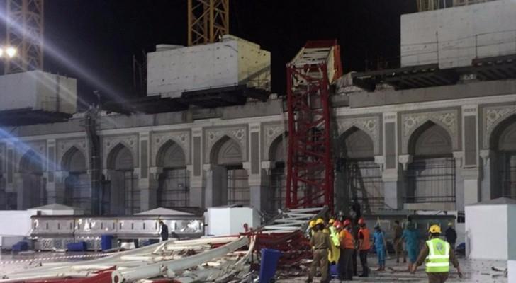 """السعودية : انتهاء التحقيق بقضية """"رافعة الحرم"""""""
