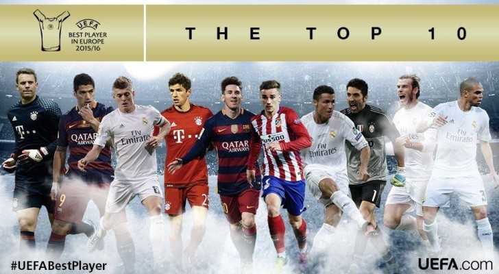 قائمة المرشحين لجائزة أفضل لاعب في أوروبا
