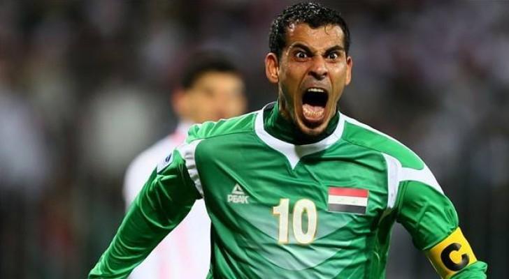 """يونس محمود """" السفاح العراقي """" يعتزل كرة القدم"""