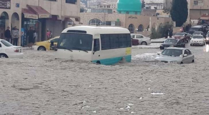 """الأمانة تستعد """" مبكرا """" للشتاء: 5.5 مليون دينار عطاءات تصريف مياه"""