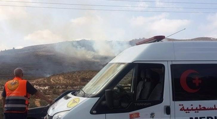 استشهاد مسن فلسطيني دهسه مستوطن جنوب نابلس