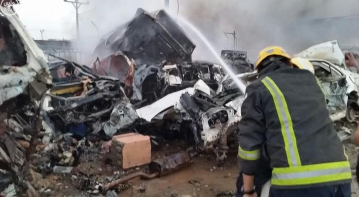 السعودية: مقتل 7 مدنيين في نجران بقذائف من اليمن
