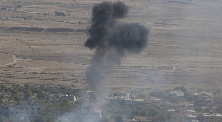 الاحتلال يقصف منصة صواريخ تابعة للجيش السوري في الجولان