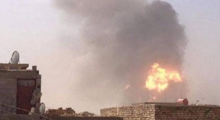 انفجارات تهز بغداد وسقوط كاتيوشا