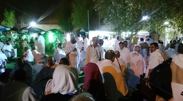 بالصور: وصول الحجاج الاردنيين الى صعيد عرفات