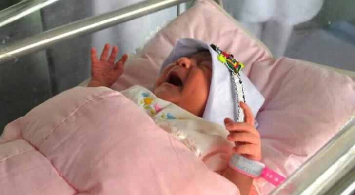 """""""مِنى"""" أول مولودة في مستشفيات المشاعر المقدسة"""