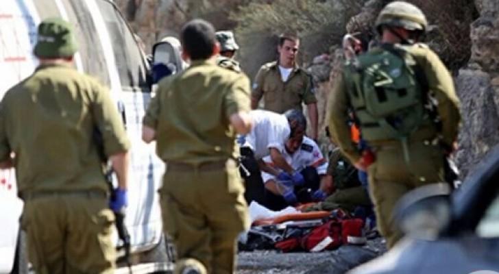اصابة طفل برصاص الاحتلال بدعوى محاولة طعن في الخليل