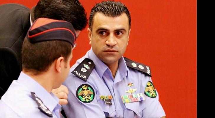 الناطق الإعلامي باسم مديرية الأمن العام المقدم عامر السرطاوي