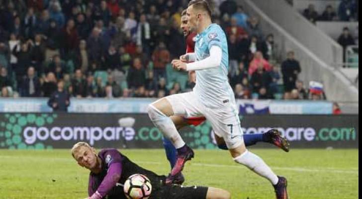 سلوفينيا تفرض التعادل السلبي على إنجلترا في تصفيات المونديال