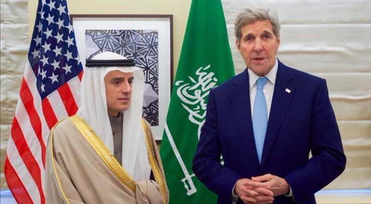 وزير الخارجية جون كيري ونظيره السعودي عادل الجبير
