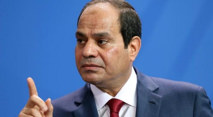 الرئيس المصرير عبدالفتاح السيسي