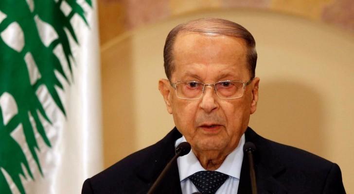 الرئيس اللبناني المنتخب ميشال عون