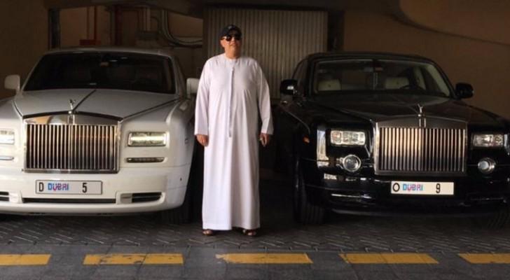صاحب السيارات الفارهة في دبي