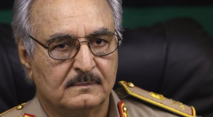 قائد الجيش الليبي المشير خليفة حفتر - ارشيفية