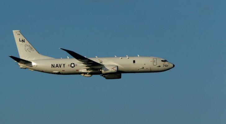 طائرة P-8A Poseidon الأمريكية