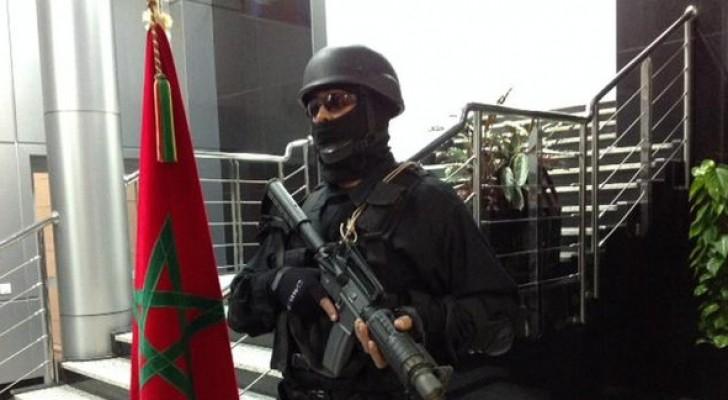 """عنصر من الأمن المغربي """"أرشيفية"""""""
