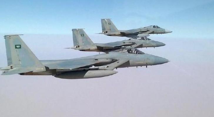 طائرات تابعة للتحالف العربي - ارشيفية