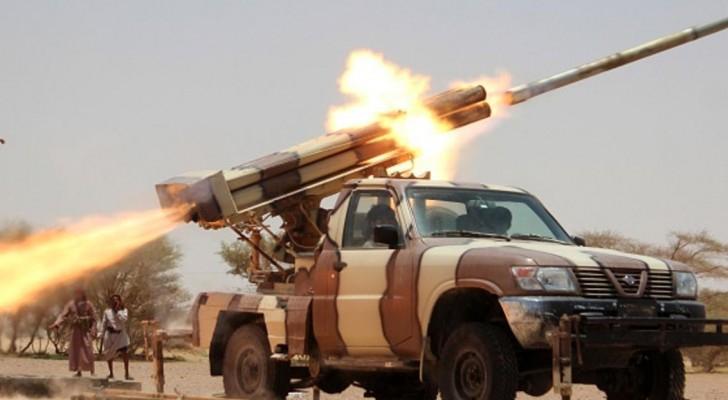 التحالف العربي يعترض صاروخين باليستيين