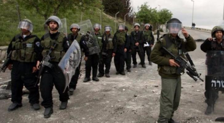 عناصر من شرطة الاحتلال الاسرائيلي