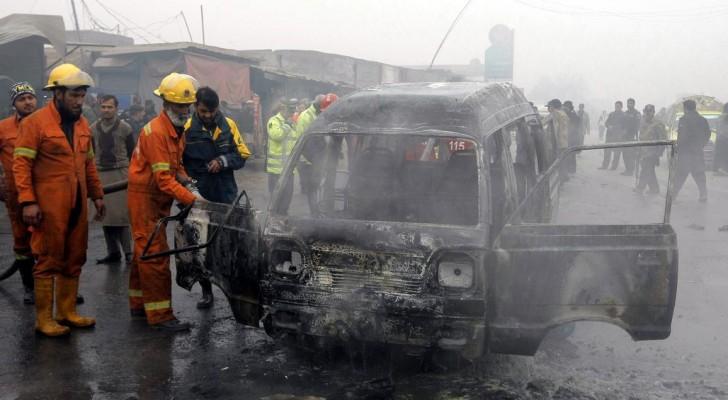 أرشيفية لتفجير في بيشاور