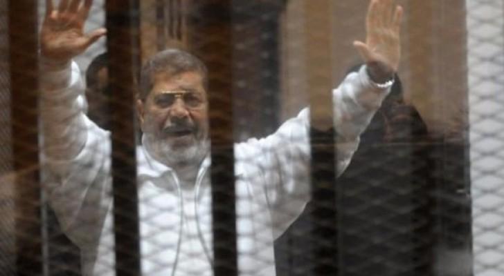 الرئيس المرسي المخلوع محمد مرسي