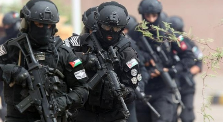 الشرطة الخاصة الأردنية - ارشيفية