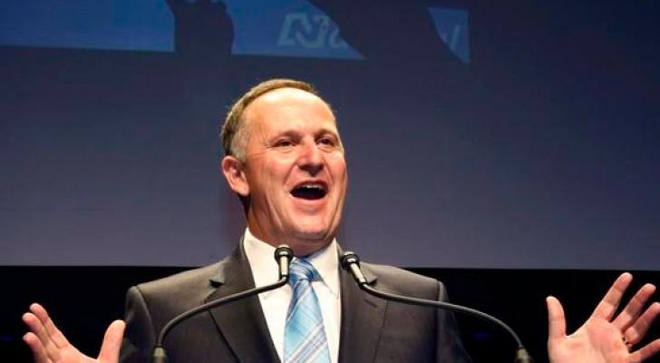 رئيس وزراء نيوزيلندا جون كي